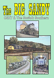 CSXT & The Norfolk Southern - The Big Sandy DVD