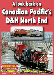 Canadian Pacifics D&H North End 2-Discs DVD