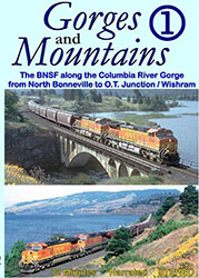 Gorges & Mountains Part 1 BNSF DVD
