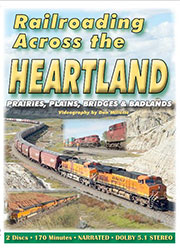 Railroading Across the Heartland DVD