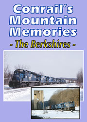 Conrails Mountain Memories - The Berkshires DVD