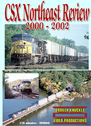 Northeast Rails 2000  2002 DVD