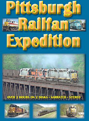 Pittsburgh Railfan Expedition DVD