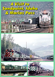A Visit to Sand Point Idaho & Marias Pass DVD