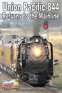 Union Pacific 844 Returns to the Mainline