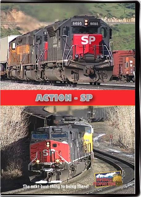Action SP - Southern Pacifc at merger time