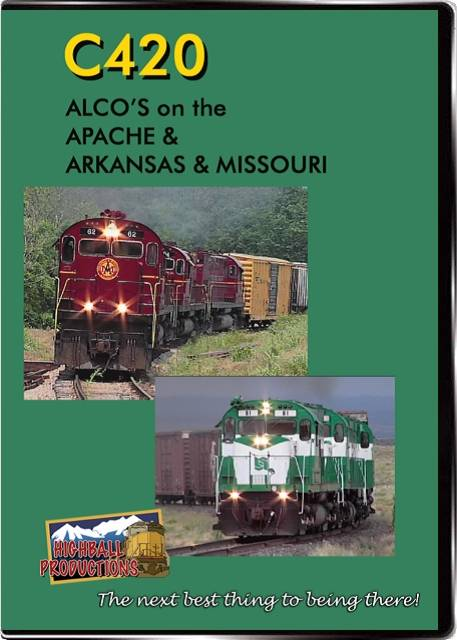 C420-Alcos On the Apache and the Arkansas & Missouri