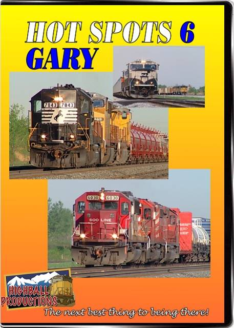 Hot Spots 6 Gary Indiana - CSX Norfolk Southern and the EJ&E come toegther here