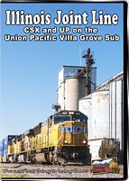 Illinois Joint Line CSX & UP on the Villa Grove Sub