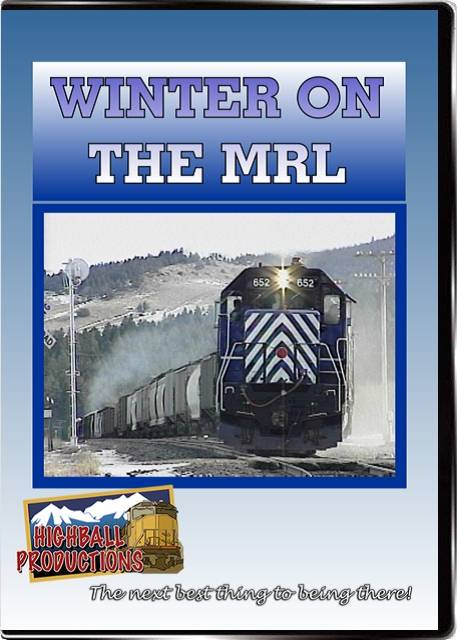 Winter on the MRL - Montana Rail Link