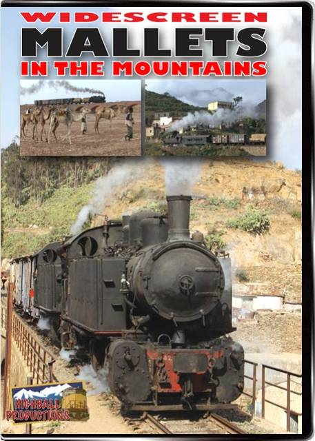 Mallets In the Mountains - Italian built steam in Eritrea