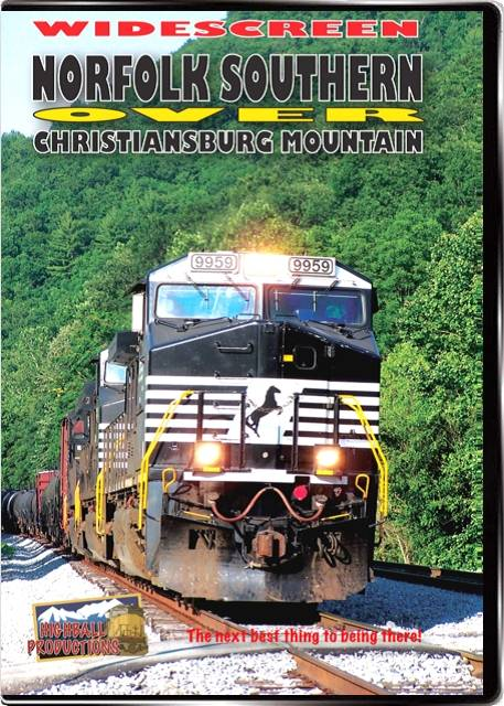 Norfolk Southern over Christiansburg Mountain