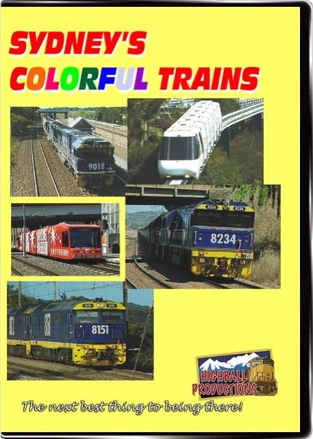Sydneys Colorful Trains