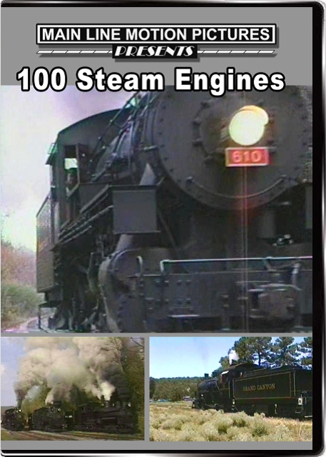 100 Steam Engines on one DVD
