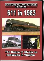 611 in 1983 - The Queen of Steam on Excursion in Virginia