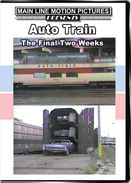 The final two weeks of the original Auto Train