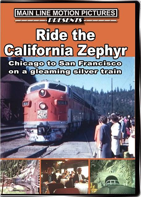 The California Zephyr in the 1950s and 1960s