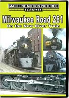 Milwaukee Road 261 on the New River Train