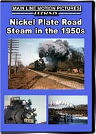 Nickel Plate Road Steam in the 1950s