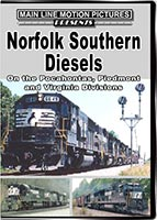Norfolk Southern Diesels on the Pocahontas, Piedmont and Virginia Divisions