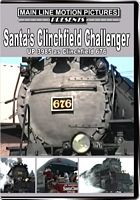 Santa's Clinchfield Challenger UP 3985