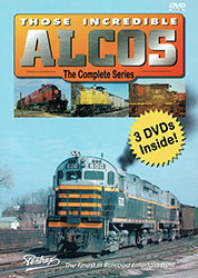 Those Incredible Alcos 3 Disc DVD Set Volume 1-3