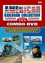 American Railroad Collection Volumes 1 & 2 Combo DVD.