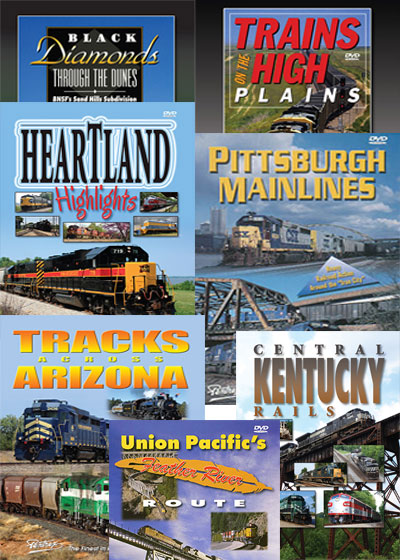 7 DVD Diesel Railroad Collection - Seven Individual DVDs