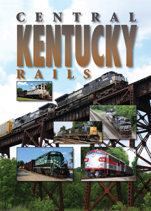 Central Kentucky Railscentral Kentucky Rails Pentrex Train Video Dvd