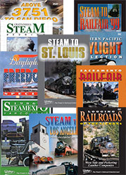 10 DVD Steam Railroad Collection - Ten DVDs