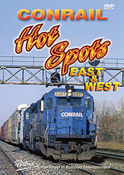 Conrails Hot Spots East & West 2 Disc DVD Set
