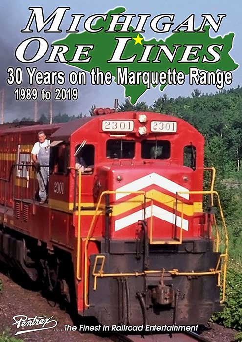 Michigan Ore Lines 30 Years on the Marquette Iron Range DVD