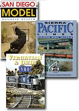 3 DVD Model Railroad Collection - Three Individual DVDs