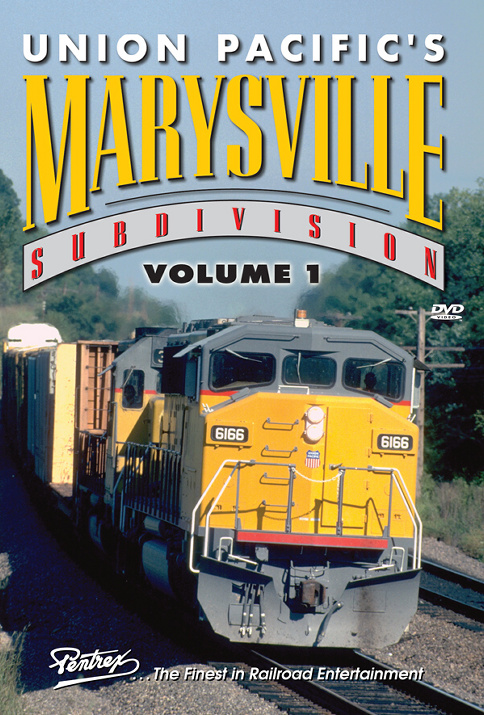 Union Pacifics Marysville Subdivision Volume 1 DVD