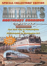 Amtraks Northeast Corridor Combo DVD