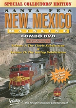 Santa Fes New Mexico Mainline Combo DVD