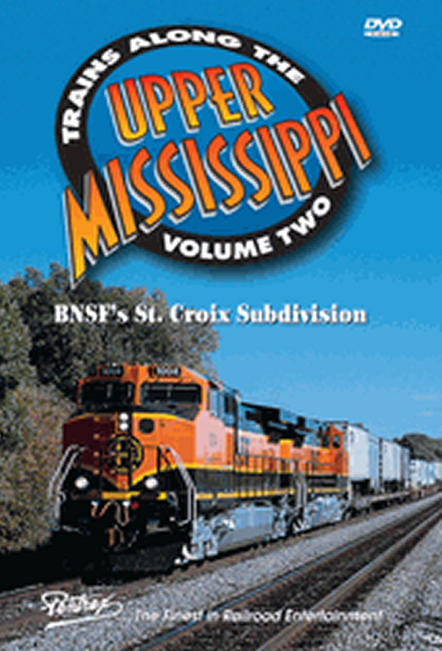 Trains Along The Upper Mississippi Vol 2 DVD