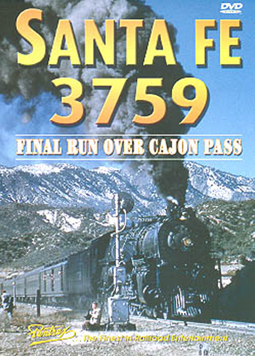 Santa Fe 3759 - Final Run Over Cajon Pass DVD
