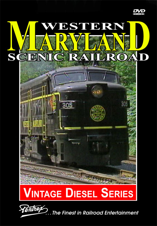 Western Maryland Scenic Railroad DVD