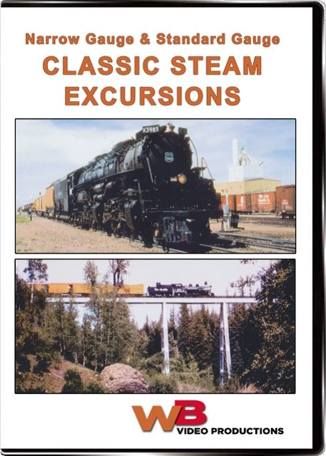 Narrow Gauge & Standard Gauge Classic Steam Excursions